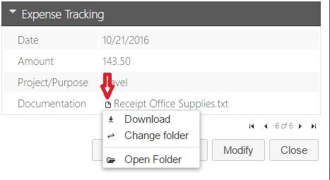 Database – Document Folder Relocation